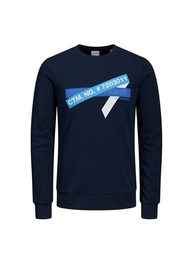 Jack & Jones Jack & Jones 12180192 Sweatshirt Lacivert
